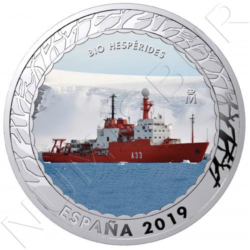 1.5€ ESPAÑA 2019 - Bio Hesperides 5ª serie