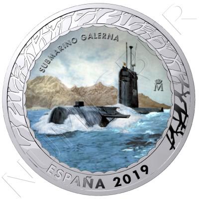 1.5€ SPAIN 2019 - Submarino Galerna 5th serie