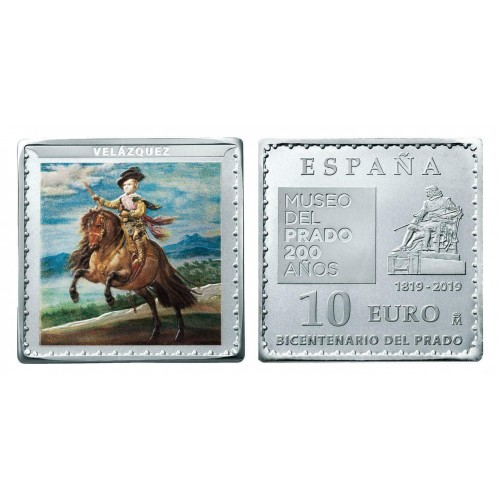 "10€ SPAIN 2019 - Prince Baltasar Carlos ""VELAZQUEZ"""