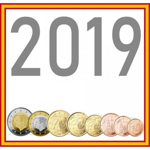 Tira ESPAÑA 2019 - 8 valores