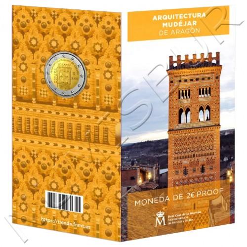 2€ SPAIN 2020 - Mudejar architecture of Aragon PROOF
