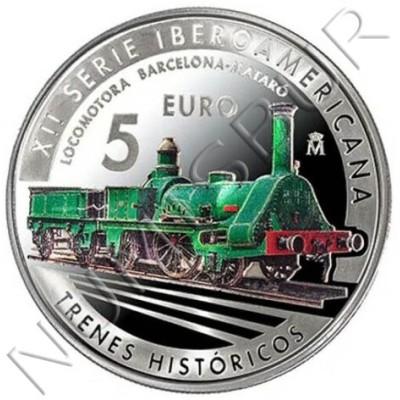 5€ SPAIN 2020 - Historical trains