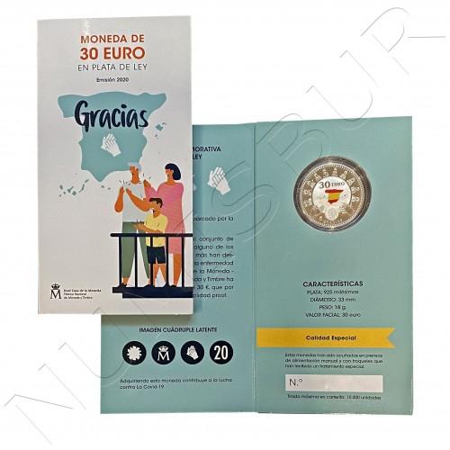 30€ SPAIN 2020 - GRACIAS COVID-19 (PROOF)