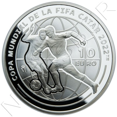 10€ SPAIN 2021 - FIFA World Catar 2022