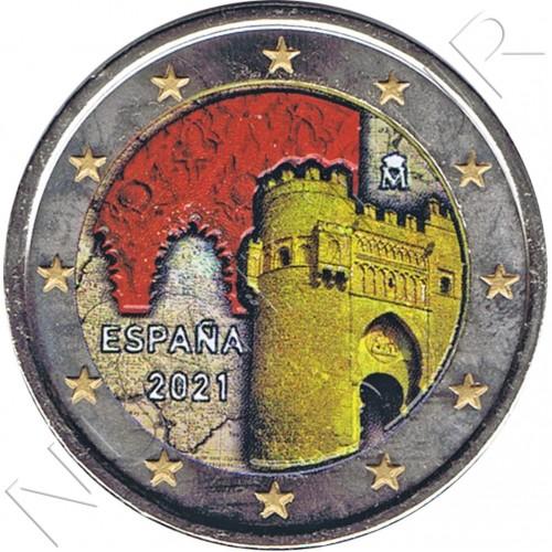 2€ SPAIN 2021 - Toledo (COLORED)