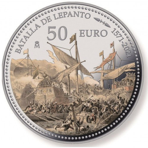 10€ SPAIN 2021 - 450th anniversary of the Battle of Lepanto