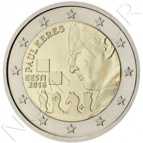 2€ ESTONIA 2016 - Paul Keres