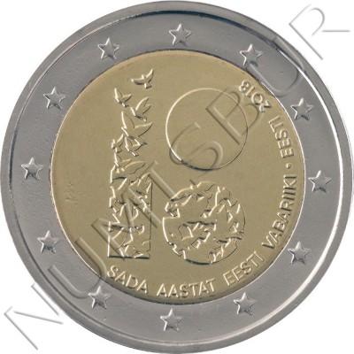 2€ ESTONIA 2018 - 100 Años de la República de Estonia