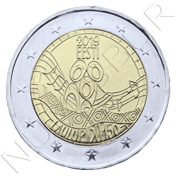 2€ ESTONIA 2019 - 150th anniversary of the Estonian Song Celebration
