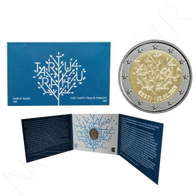 2€ ESTONIA 2020 - Centenary of the peace treaty of Tartu