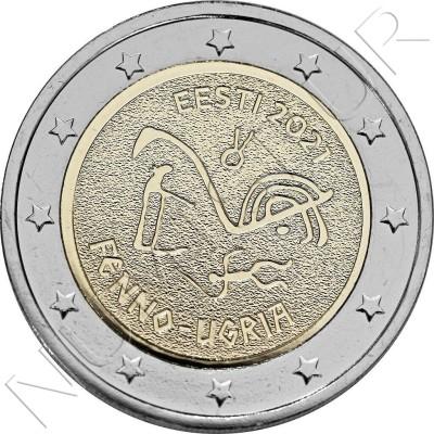 2€ ESTONIA 2021 - Finno-Ugric peoples
