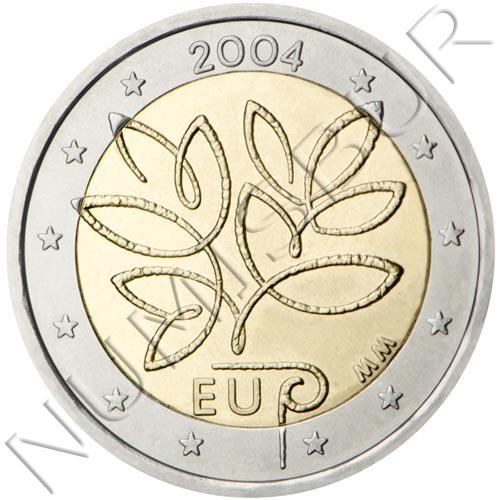 2€ FINLANDIA 2004 - 5ª ampliación de la Unión Europea