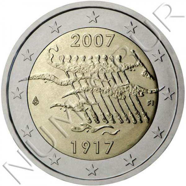 2€ FINLAND 2007 - Independence