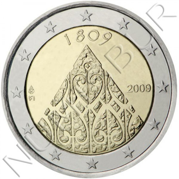 2€ FINLAND 2009 - Second Centenary of the Autonomy of Finland