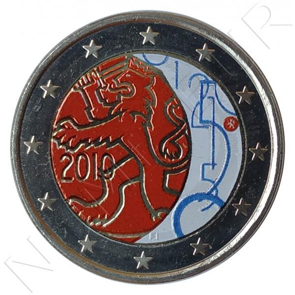 2€ FINLANDIA 2010 - Decreto de 1860 (COLOR)
