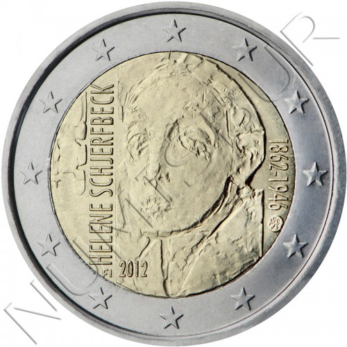 2€ FINLAND 2012 - Helene Schjerfbeck