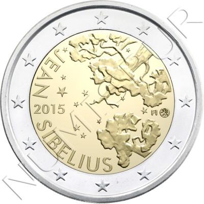 2€ FINLANDIA 2015 - Jean Sibelius