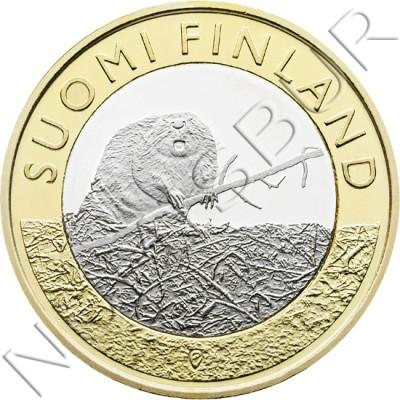5€ FINLANDIA 2015 - Castor