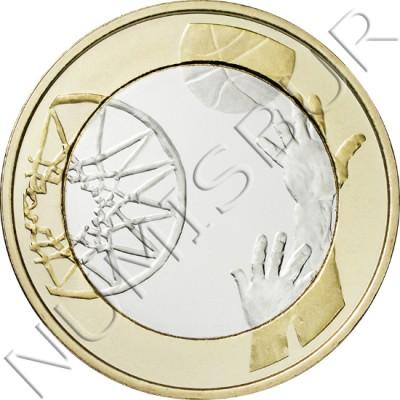 5€ FINLANDIA 2015 - Baloncesto
