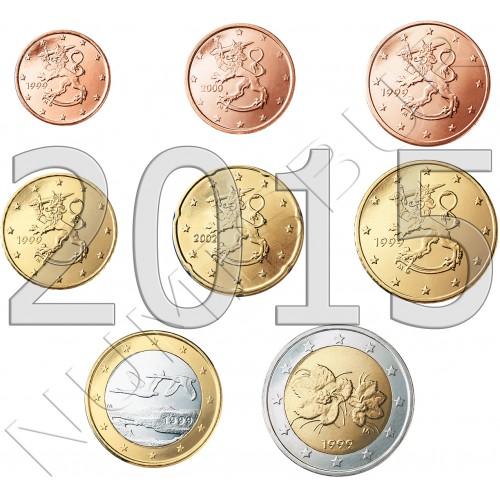 Tira FINLAND 2015 - 8 coins