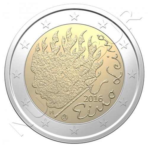 2€ FINLAND 2016 - 90 Years of Eino Leino's Death
