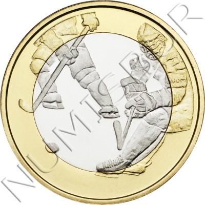 5€ FINLANDIA 2016 - Hockey sobre hielo