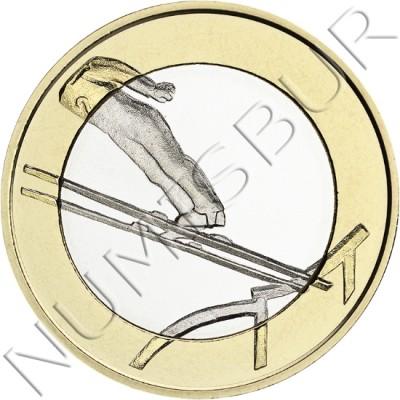 5€ FINLANDIA 2016 - Salto de Ski