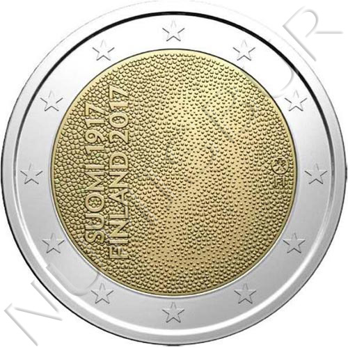 2€ FINLANDIA 2017 - Independencia