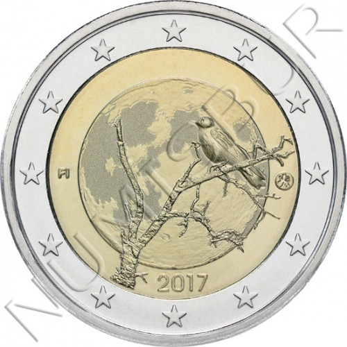 2€ FINLAND 2017 - Finnish nature
