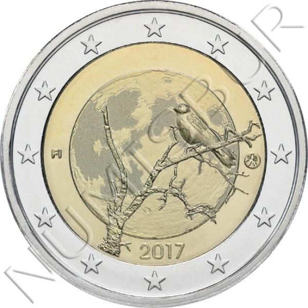 2€ FINLANDIA 2017 - Naturaleza Finlandesa