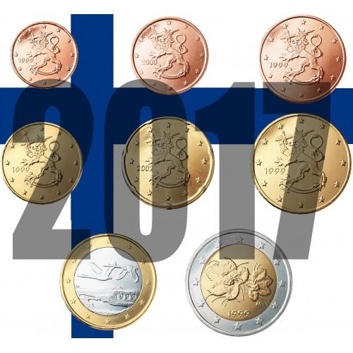Tira FINLANDIA 2017 - 8 valores