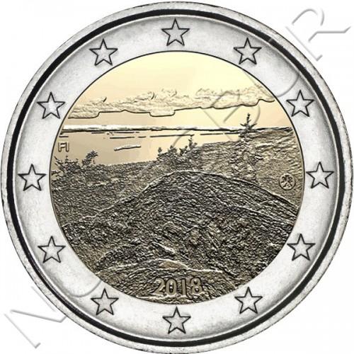 2€ FINLANDIA 2018 - Paisaje nacional finlandés de Koli