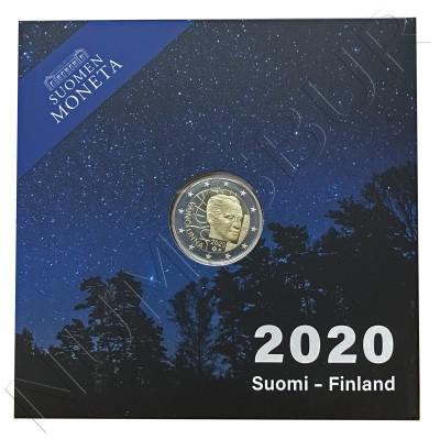 2€ FINLAND 2020 - 100th anniversary of the birth of Väinö Linna (PROOF)