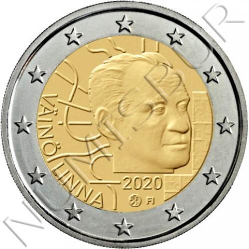 2€ FINLAND 2020 - 100th anniversary of the birth of Väinö Linna