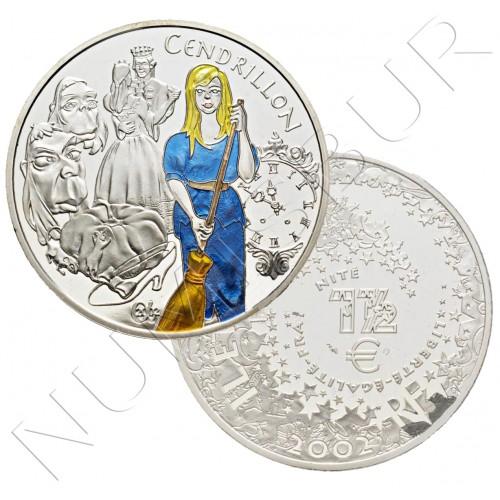1,5€ FRANCIA 2002 - Cendrillon