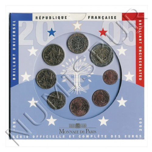 Euroset FRANCIA 2005 - BU