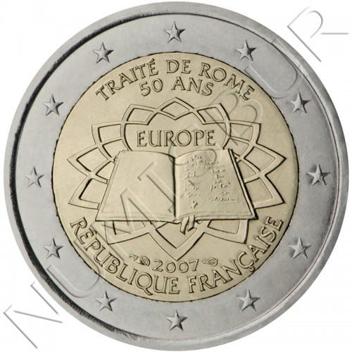 2€ FRANCIA 2007 - Tratado de Roma