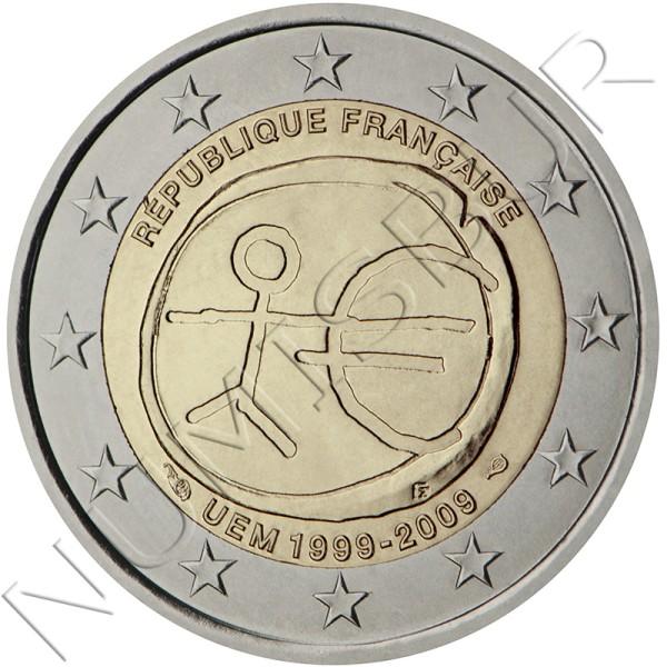 2€ FRANCIA 2009 - EMU