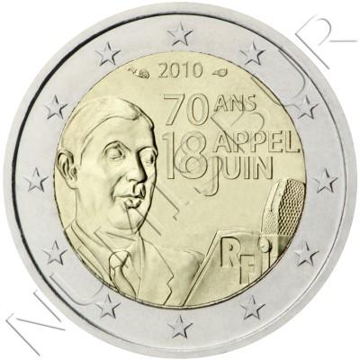2€ FRANCIA 2010 - Llamamiento del 18 de junio