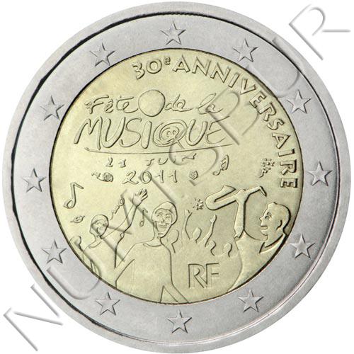 2€ FRANCIA 2011 - Fiesta de la Música