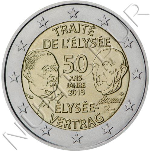 2€ FRANCE 2013 - Treatise of eliseo