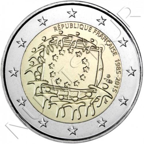 2€ FRANCE 2015 - XXX aniversary of European FLAG