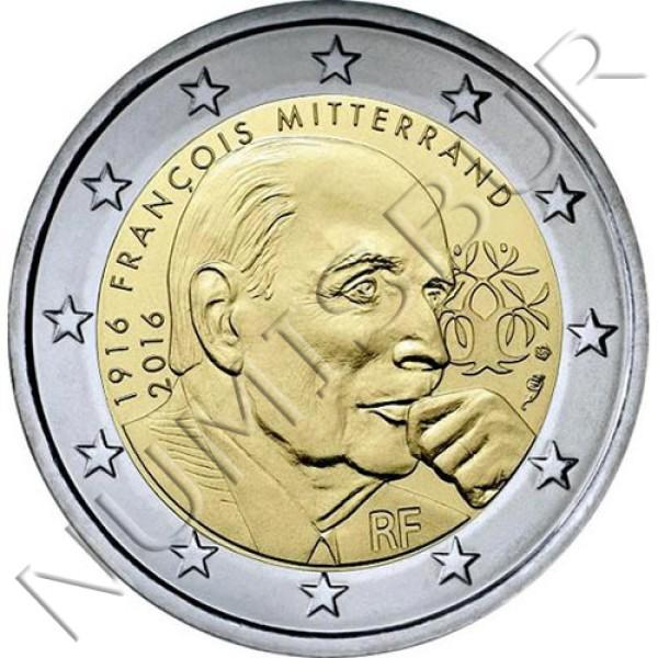 2€ FRANCIA 2016 - Mitterrand