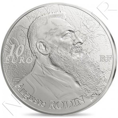 10€ FRANCIA 2017 - 100 años Rodin