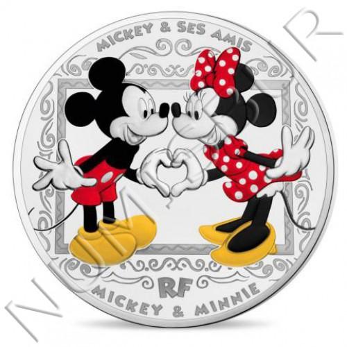 10€ FRANCE 2018 - Mickey & Minie