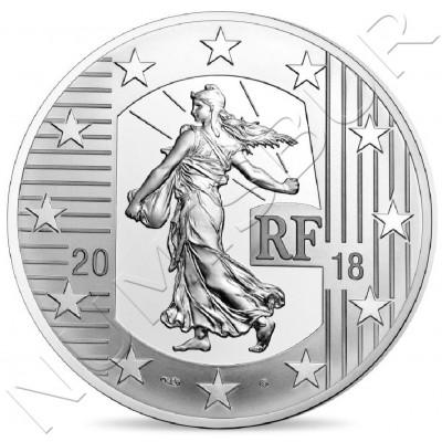 10€ FRANCIA 2018 - El Ecu de 6 libros