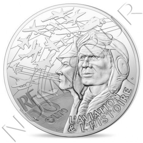 10€ FRANCIA 2018 - Historia de la aviación Dakota