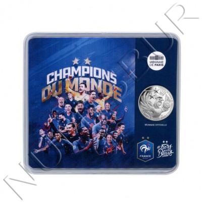 10€ FRANCE 2018 - France, world champions