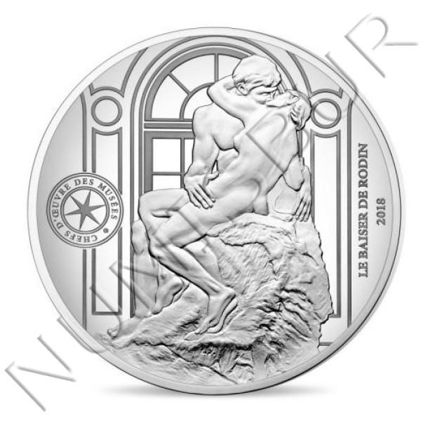 10€ FRANCIA 2018 - Le Baiser de Rodin