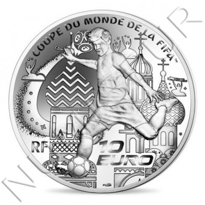 10€ FRANCE 2018 - FIFA WORLD CUP 2018 RUSSIA